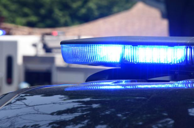 police-lights-stock-image